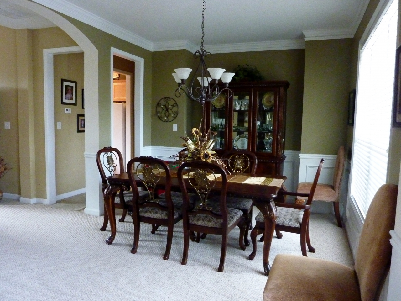 Formal Dining Room off Foyer
