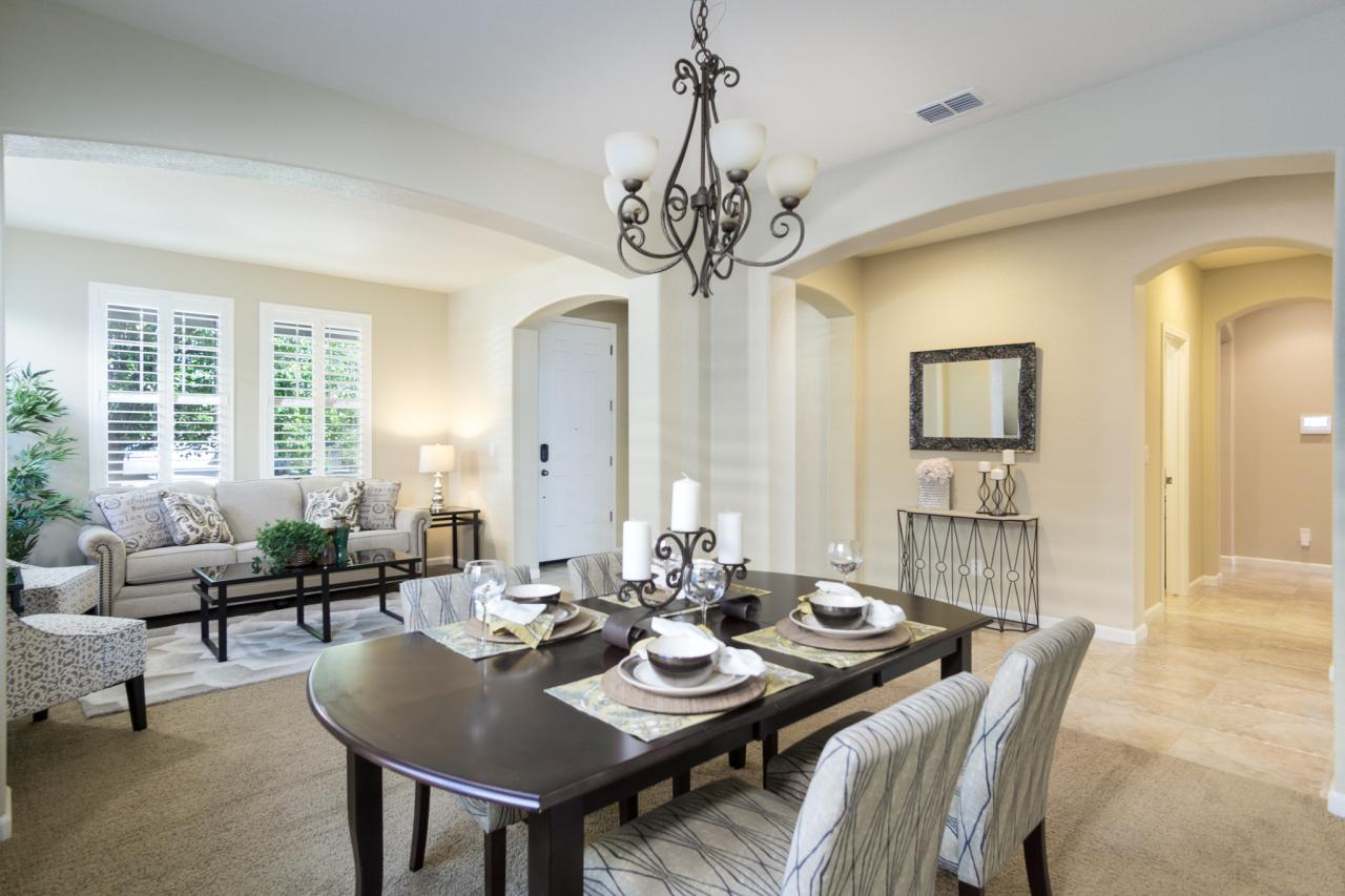 Your entry greets your guest with Formal Living & Dining Room, plus office/bedroom.
