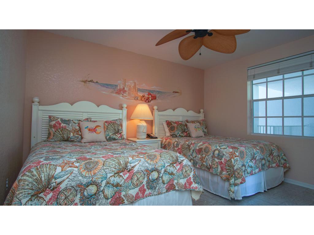 Queen Beds in Guest Room