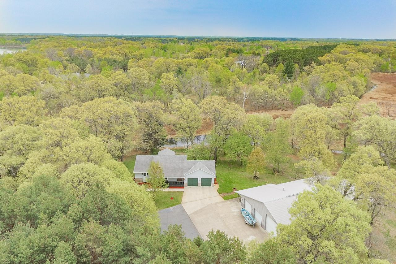 10 wooded acres!