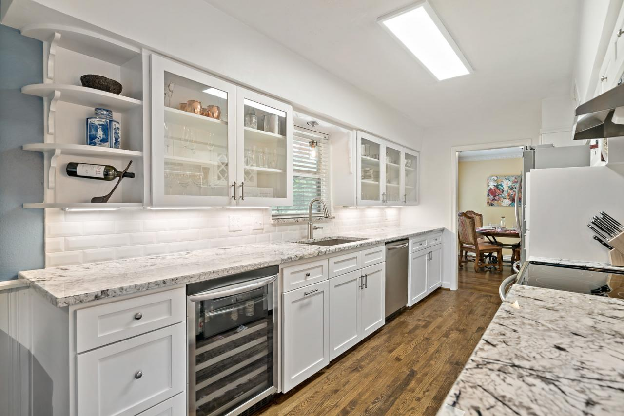 Stainless Appliances and Wine Cooler