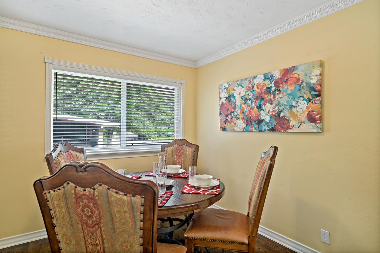 Formal Dining leads to Kitchen