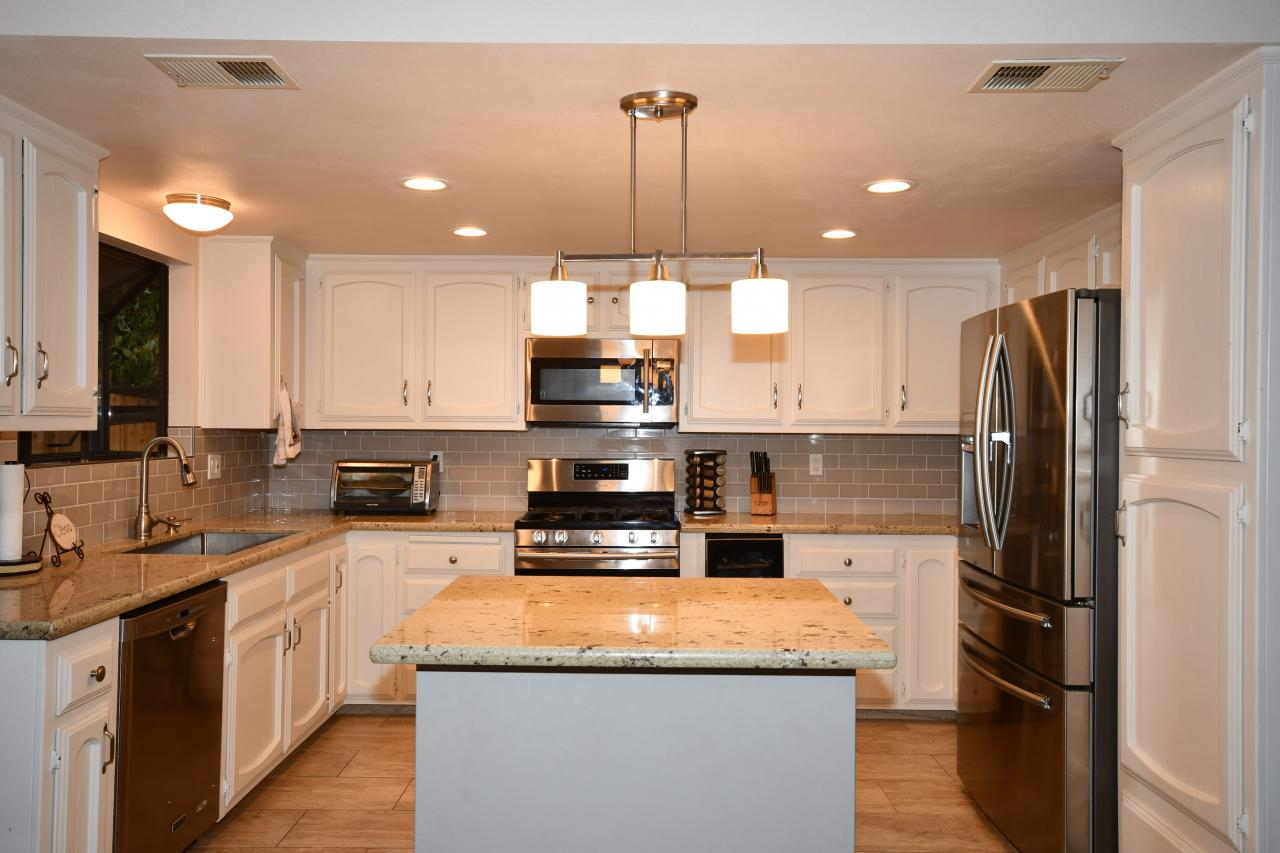 Recently Remodeled Kitchen With Island