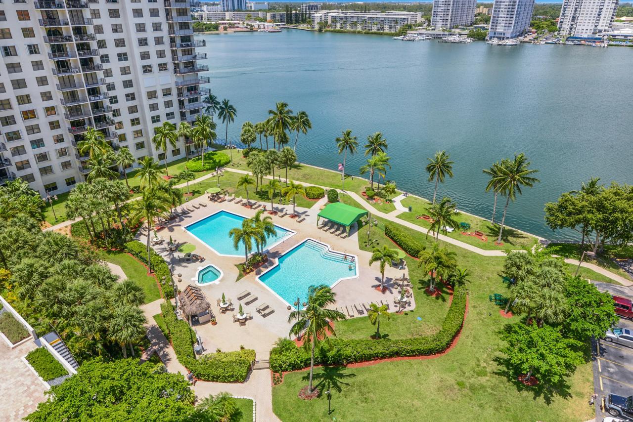 Waterfront Pool Deck